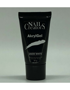 AkrylGel Snow White 30 ml