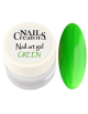 Nail art gel Green