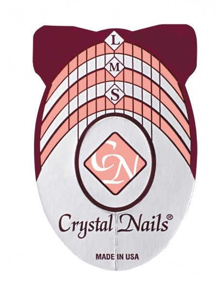Crystal Nails formos 500 vnt (Crystal Nails Nail Form)