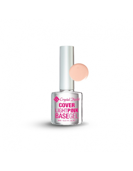 Cover light pink - Gelinio lako pagrindas  4ml