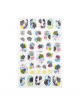 Nail sticker - tropical eclecticism